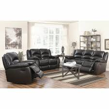 Leather Reclining Living Room Sets Abbyson Living Cayman 3 Pc Italian Leather Reclining Living Room