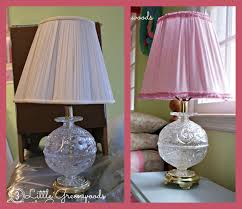 Diy Lampshade Diy Lampshade Makeover 3 Little Greenwoods