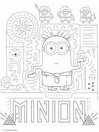 Coloriage Minions Imprimer Moi Moche Et M Chant