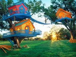 Creative Tree House Plans around the world    tree house kids