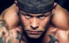 обои волосы на лице культурист мужчина мышца тату Macbook Pro 15