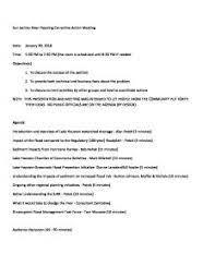 Alan Potok Meeting_Agenda_1_30 – KINGWOOD, TEXAS