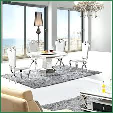white marble kitchen table stylish white marble top round dining table with stainless steel frame bottom