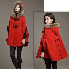 red 2016 hot womens girl faux fur shawl