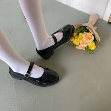 Yesstyle Shoe Size Chart Patent Mary Jane Flats