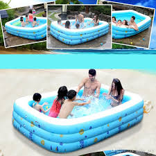 inflatable swimming pool for kids. Delighful Pool 2018 Baby Inflatable Swimming Pool For Adult Kids Cartoon Tub Portable Home Outdoor  Swim Toys With Pump Summer From Baby_sky 311  DhgateCom A