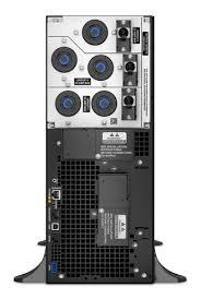 apc smart ups srt 6000va 208v apcguard com srt6kxlt rear