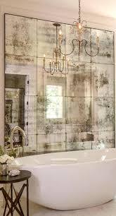 antiqued mirror tiles backsplash best antiqued mirror ideas on mirror tiles  sometimes an artfully faded mirror