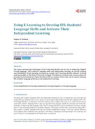 E Learning By Design William Horton Pdf Pdf Using E Learning To Develop Efl Students Language