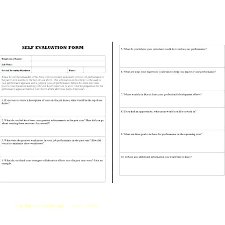 Job Performance Evaluation Form Templates Employee Appraisal Form Sample Onweb Pro