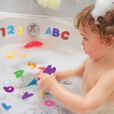 36pcs set foam numbers letters for kid toddler baby bath tub floating toy gift