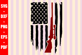 A wide variety of hunting flag options are available to you, such as decoration, advertising. Hunting American Flag Distressed Usa Graphic By Creativeshohor Creative Fabrica