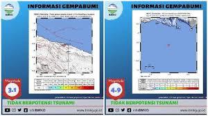 Blog menyajikan/forward info bmkg, mitigasi gempa, pasca gempa dan teknologi terkini. Gempa Hari Ini Bmkg Catat 3 Gempa Guncang Papua Jember Dan Bali Sore Ini Tribunnews Com Mobile
