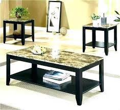 faux marble 3 piece coffee end tables table set target faux marble 3 piece coffee end tables table set target