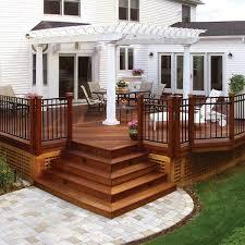 Backyard Decking Designs Model Cool Design Inspiration