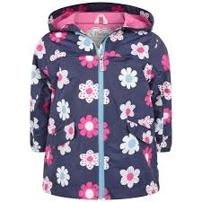 Designer Spring Coats Hatley Girls Spring Flowers Rain Jacket Girls Designer