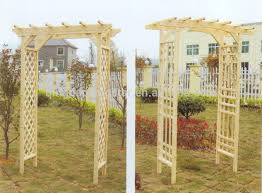 Small Picture Solid Wood Outdoor Wooden Garden Arch Buy Wooden Garden Arch