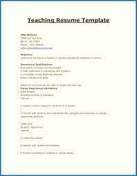 Sample Math Teacher Resume Teaching Resumes Samples Math Teacher