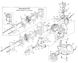 Homelite xl chainsaw parts diagram 03 17 current drawing graphic