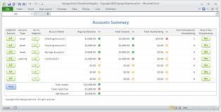 Checkbook Programs For Windows 10 Excel Checkbook Software Spreadsheet Template