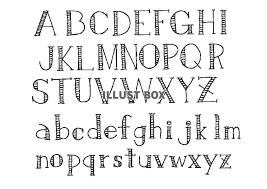無料イラスト ゆる文字セット アルファベット3