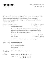 Design Your Own Resumes