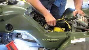 honda rancher trx te replacing the starter by kvusmc pt  honda rancher trx 350 te replacing the starter by kvusmc pt 1