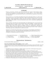 Visual Merchandising Resume Sample - Free Letter Templates Online ...
