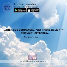 Let There Be Light Verse Test The Bible Society Of Uganda