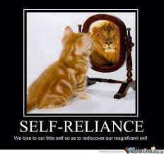 Self Reliance Quotes Funny. QuotesGram via Relatably.com