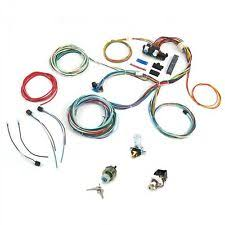 ford f100 wire harness 1953 1956 f100 ford wire harness upgrade kit fits painless compact fuse update