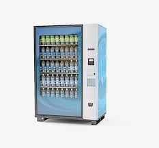 Vending Machine Background Best Background Material Vending Machine Blue Soft Drinks Drink PNG
