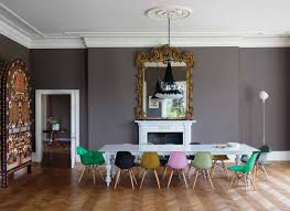 mesmerizing modern retro living room. Living Rooms Retro Modern Interior Design Mesmerizing Luxurious Wall Mirror Facing Long Table And Colorful Chairs In Dining Room O
