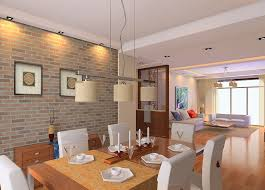 Small Picture Dining room wall design accent walls in living room brick wall