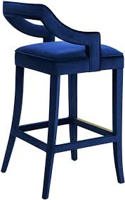 Blue Leather Bar Stools Uk Chairs Faux Stool   E39