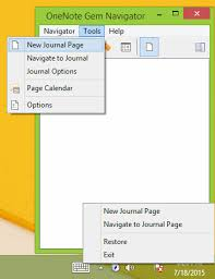 Onenote Daily Journal 2015 07 19 Release Onenote Gem Favorites 18 0 0 70 Daily