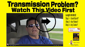 Transmission Slipping | Symptoms | What To Check | Diagnosis ...