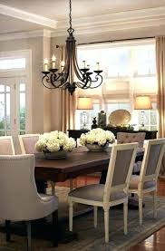 dining room chandeliers height chandelier table size chan
