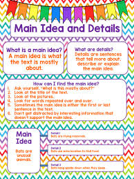 Main Topic And Key Details Lessons Tes Teach