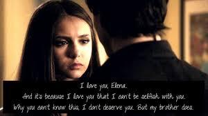 Relationship romantic vampire diaries love quotes : Tvd Love Quotes Quotesgram