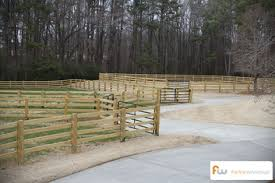 wooden farm fence. Farm Fences: What You Need To Know: Wooden Fence