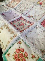 181 best Vintage Doilies & Handkerchiefs: Quilts & More images on ... & Vintage Handkerchief Rag Quilt Adamdwight.com