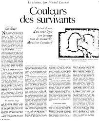 Citation Film Seul Au Monde Infos Et Ressources