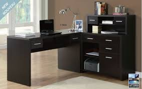 l shaped home office desks. I 7018 Cappuccino Hollow - Core L Shaped Home Office Desk Desks