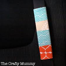 patchwork seat belt cover