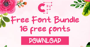 Browse by popularity, category or alphabetical listing. Free Font Bundle 2019 Vol 1 Bundle Creative Fabrica