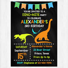 Dinosaur Birthday Invitation Dinosaur Birthday Invitation Printable Dinosaur Party Invitation Card