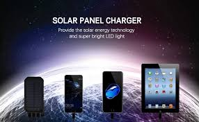 Wonder World  Rechargeable Solar Charging Lights USB Power Bank Solar Charging Light