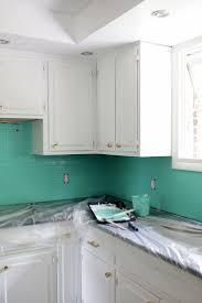 Painting Kitchen Backsplash 17 Best Ideas About Painting Tile Backsplash On Pinterest
