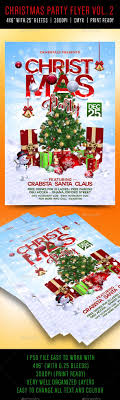 Work Christmas Party Flyers Card Celebration Champagne Christmas Christmas And New Year